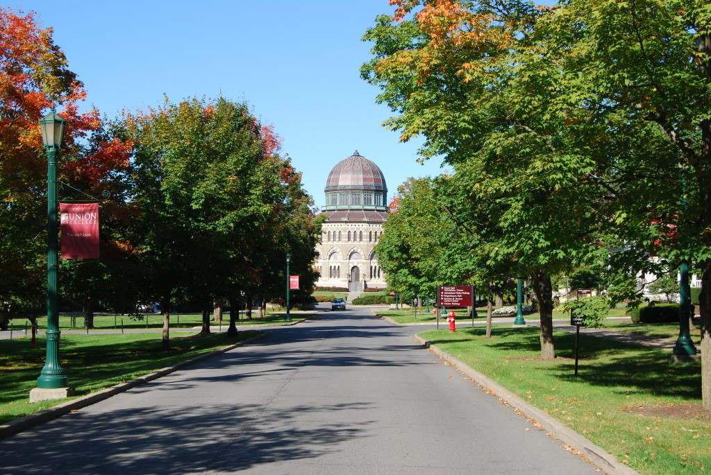 Union College, located in Schenectady, NY, is considered one of the top 10 colleges in Upstate New York.